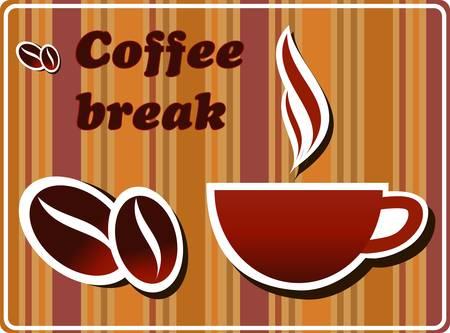 granos de cafe: Pausa para el caf�