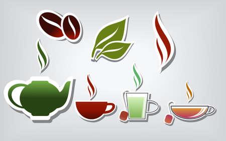 따뜻한 음료 일러스트