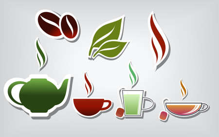 steam of a leaf: Warm drinks