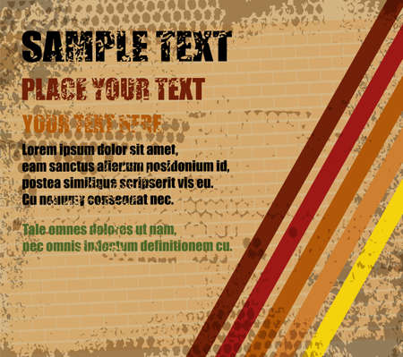 Abstract grungy background with place for text, vector Stock Vector - 24213530