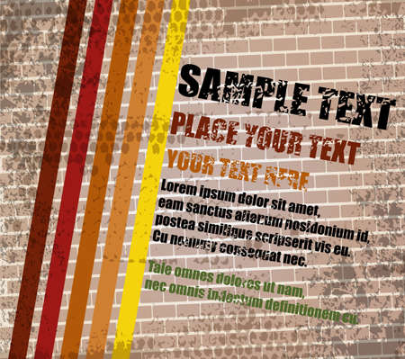Abstract grungy background with place for text, vector Stock Vector - 24213532