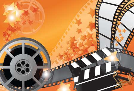 movie poster: Movie poster, vector Illustration