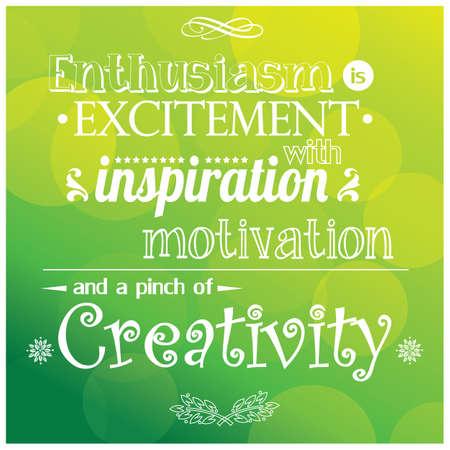 Citaat, inspiratie bericht, typografie, vector illustratie
