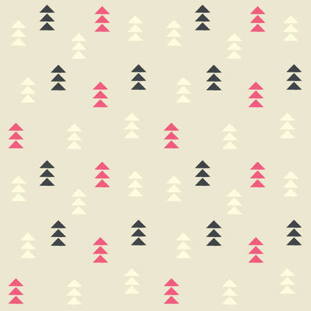 triangles: Geometric triangles, seamless pattern, vector illustration