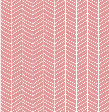 grid pattern: Seamless pattern with hand drawn chevron line grid, vector illustration
