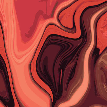 marbled effect: Liquid marble texture design, colorful marbling surface, vibrant abstract paint design, vector illustration