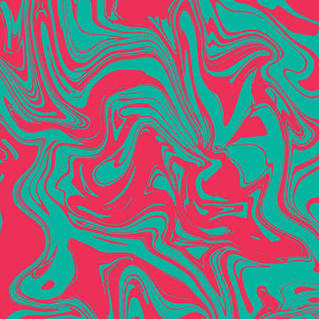 Liquid marble texture design, colorful marbling surface, vibrant abstract paint design, vector illustration