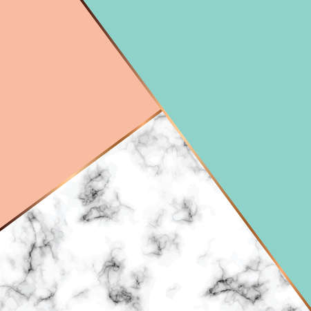 Marmorbeschaffenheitsdesign des Vektors mit goldenen geometrischen Linien, marmorierende Schwarzweiss-Oberfläche, moderner luxuriöser Hintergrund, Vektorillustration Standard-Bild - 89253110