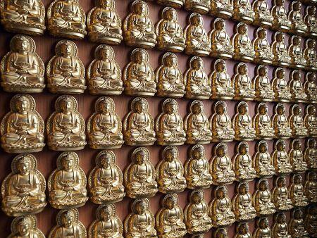 lengnoeiyi: Wall of Buddha, Thailand