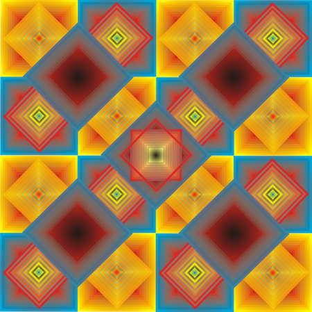 Ornamental tile Stock Vector - 13704316