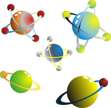 atomique: atomes