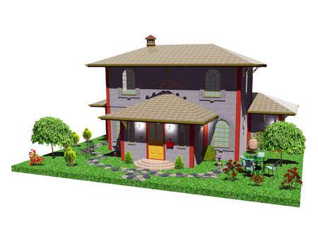 vintage elegant house