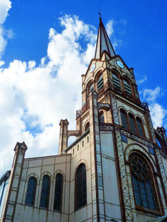 Church Creole Style Architecture Stock Photo - 13896007