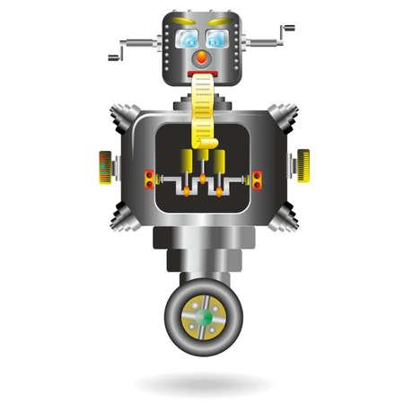 Robots Computer Cartoon