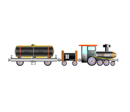 Train oil transport