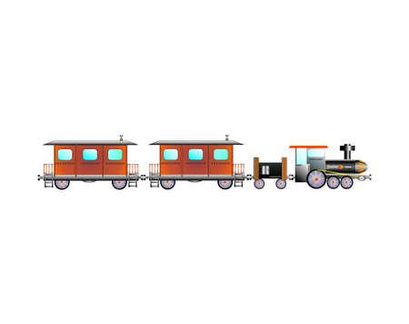 passengers train Illustration