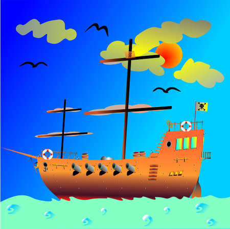outlaws: pirate ship