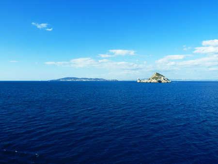 Cerboli island tuscany coast Italy