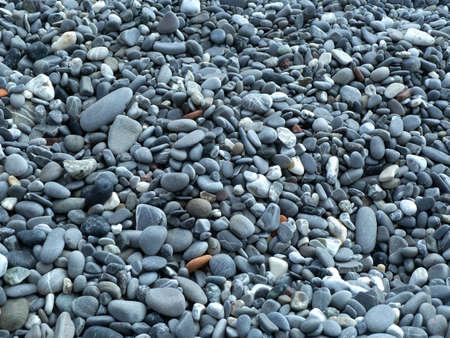 Round Beach stones texture