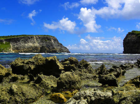 Bay, cove in Guadeloupe