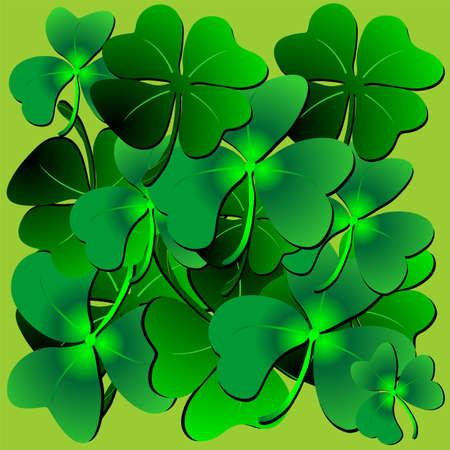 Clover St Patrick Pattern