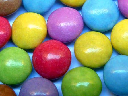Sweet Candies Rainbow Colors Stock Photo - 17062737