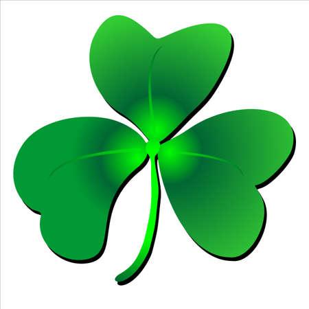 customs and habits: St Patrick s shamrock clover design