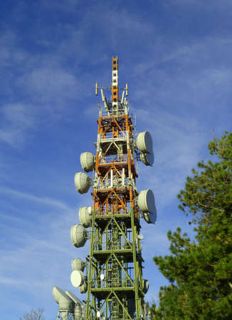 Antennas of communication  photo