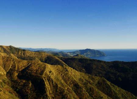 promontory: Portofino promontory Stock Photo