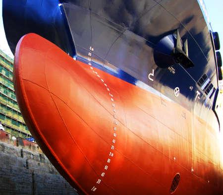 ship in drydock
