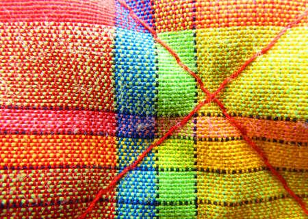 duffle: Madras cloth
