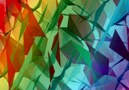 Rainbow Origami Design Pattern Background photo