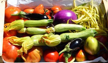 vegetables background Stock Photo
