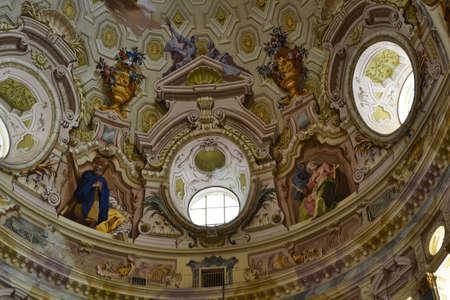 Affresco, dome Vicoforte Sanctuary