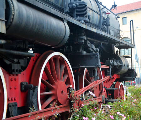 Gears Steam Locomotive photo