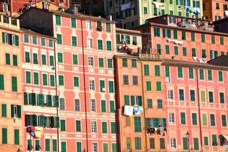 verandas: colorful houses
