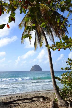 Island on the horizon