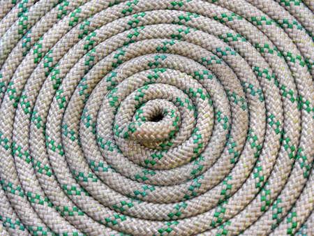 nylons: rope Stock Photo