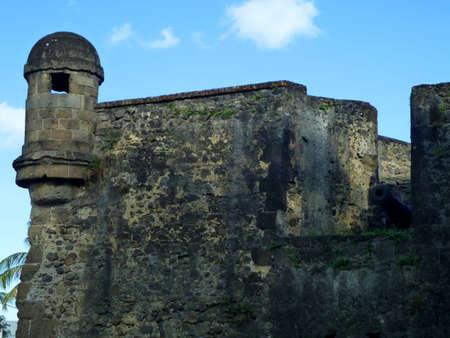 impregnable: fortress ruin