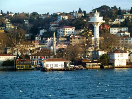 houses on the Bosphorus