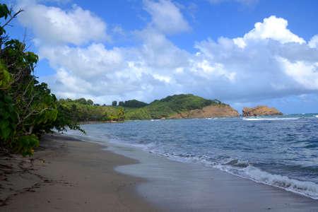 rugged coastline Stock Photo