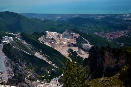 Carrara marble mines Stock Photo - 58944165