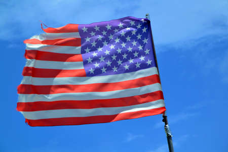 American flag Stock Photo - 65215539