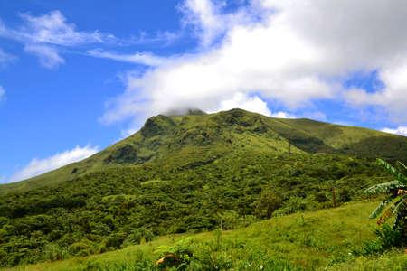 Mountain pelee volcano in Martinique Stock Photo - 66216095
