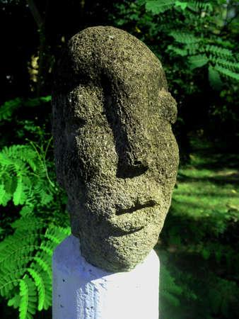 Lava Stone Statue