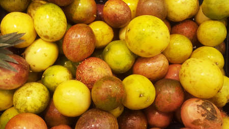 Passion fruits Maracuja Background