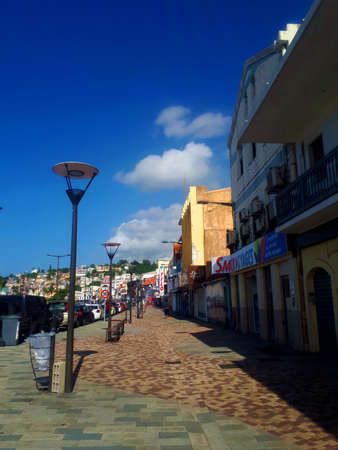 Fort de France city in martinique