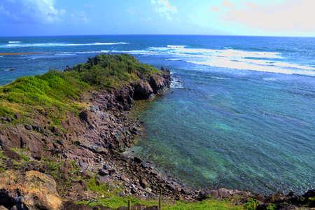 Beautiful ocean blue view