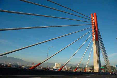 conection: Pasupati bridge Stock Photo