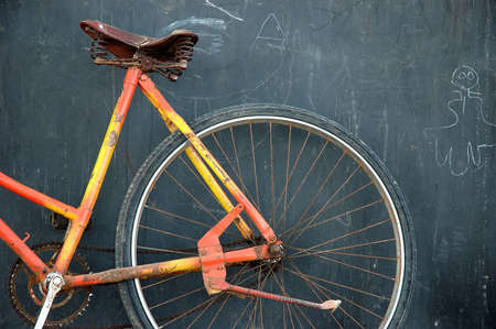 old bicycle Stock Photo - 4304376